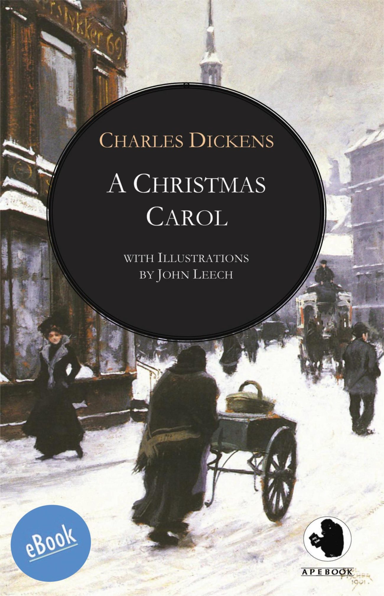 Dickens: Christmas Carol (illustr.)(eBook)