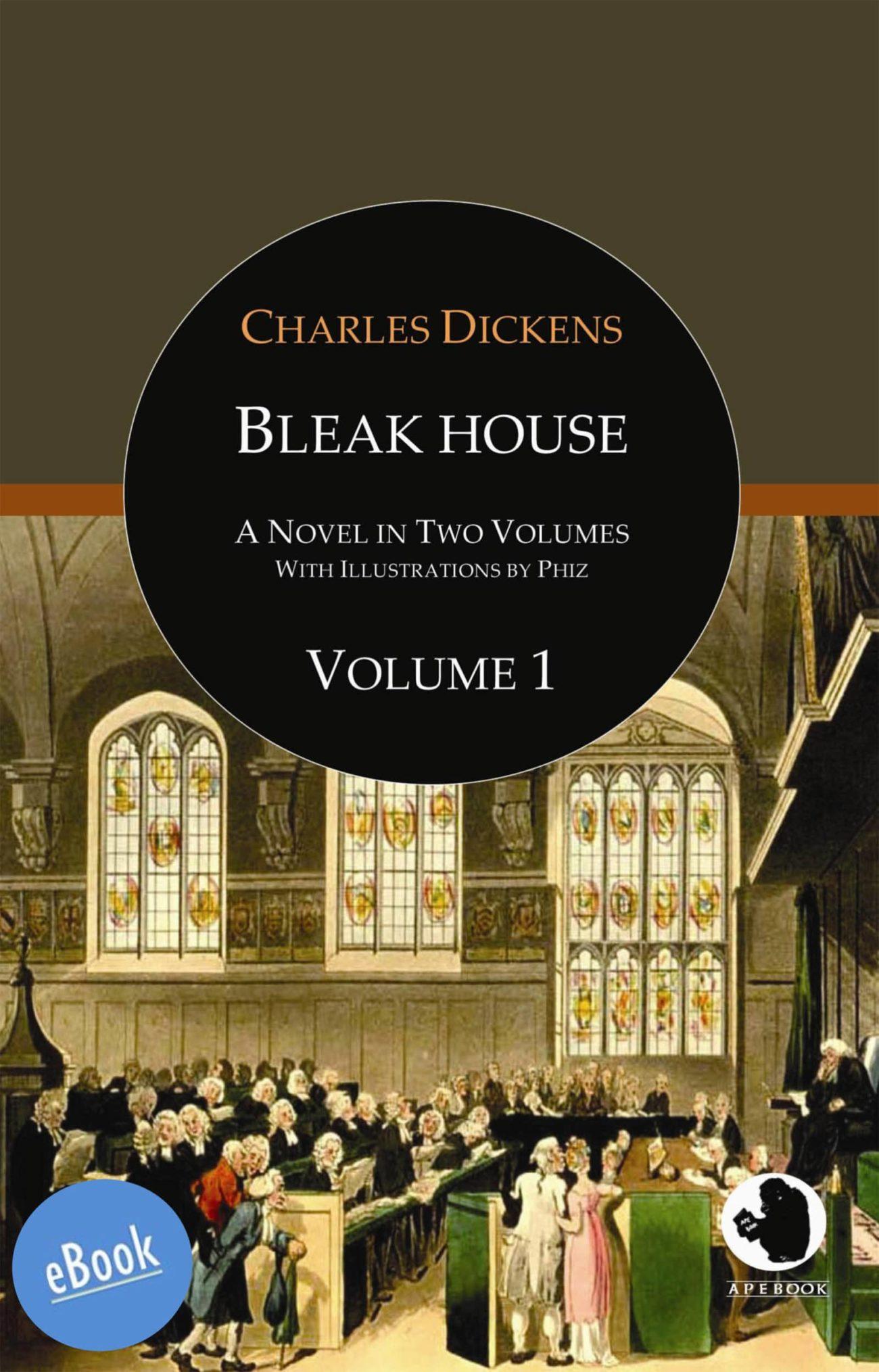 Dickens: Bleak House Vol. 1 (illustr.)(eBook)