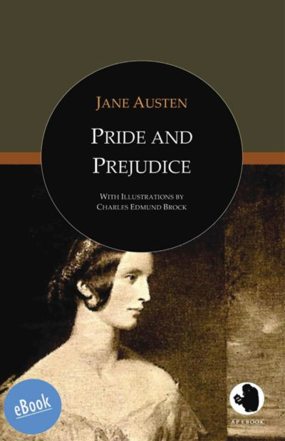 Austen: Pride and Prejudice (illustr. by Brock)(eBook)