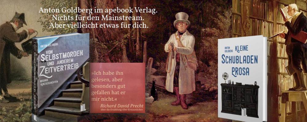 A. Goldberg im apebook Verlag